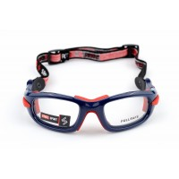Fullsafe SS-FS C04 [Bright Metallic Navy Blue - Red Pads]